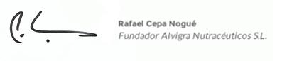 Firma Rafael Cepa, fundador de Alvigra e Ilexina