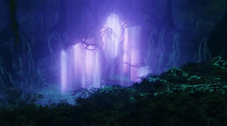 Árbol de la película Avatar