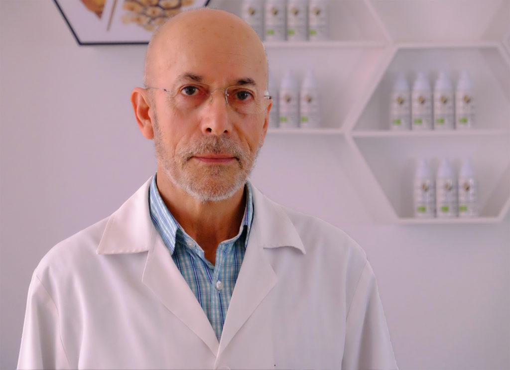 Rafael Cepa, de ilexina adaptógeno hormonal