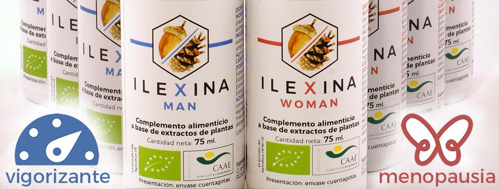 Ilexina Man, Ilexina Woman, adaptógeno hormonal regulador